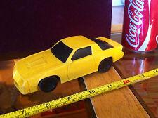 En plastique jaune rare ou spécial fait 1987 matchbox 1:32 chevrolet camaro