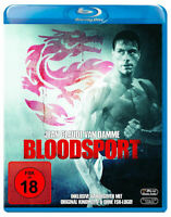 BLOODSPORT [Blu-ray] (1988) Exclusive German Import Jean-Claude Van Damme Kumite