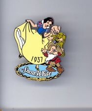 Disney Willabee & Ward Princess Snow White Dancing with Grumpy Dopey Dwarfs Pin
