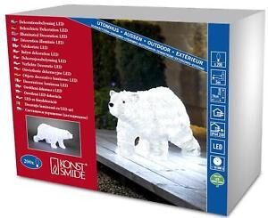 Christmas decoration Large 70cm 200 LED Lights White Winter Walking Polar Bear