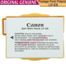 Genuine Canon LP-E8 Battery fr EOS Rebel 700D 650D T2i T3i T4i T5i X7i 1120mAh