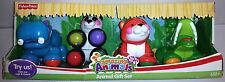 Fisher Price Amazing Animals Animal Toy Gift Set Tiger, Panda, Hippo, Crocodile