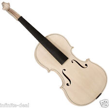 New SAGA VW-5 VIOLIN Unfinished Raw Pro-Quality Flammed Maple Violin Luthier Kit