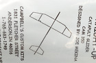 """""""STRAIGHT-UP"""", Free Flight CATAPULT Launch Glider Kit, NEW, Bag Sealed"""