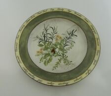 New listing American Atelier Bouquet Garni Butternut Rosemary Lemon Salad Dessert Plate Herb