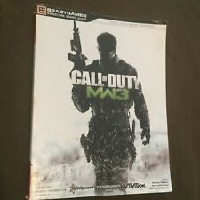 Call of Duty MW3 Modern Warfare 3 Brady Games Strategy Video Game Guide Book