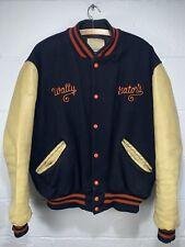 Vintage Varsity Jacket Gators VTG 50s 60s DeLong Wool Leather Letterman