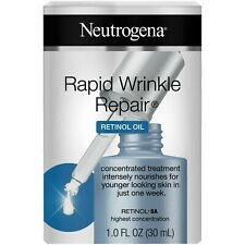 Neutrogena Rapid Wrinkle Repair Retinol Oil 1 OZ. - Wholesale Lot of 12