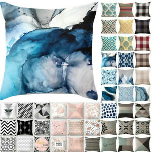 18x18'' Geometric Pillow Case Cushion Cover Throw Sofa Bedroom Bed Home Decors