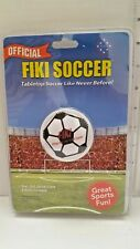 Fiki Tabletop Soccer Game New Sealed Leather Ball Free Shipping Within The Us