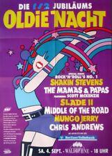 OLDIE NACHT - 1993 - Konzertplakat - Shakin Stevens - Slade - Poster