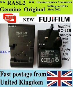 Original Genuine FUJIFILM Charger,BC-45B NP-45a finepix J35 J37, instax mini 90