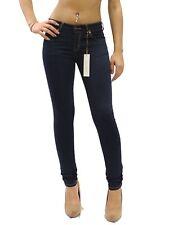 Indigo Soft Comfy SKINNY Stretch Basic 5 Pocket Jeggings Size 1-15 Jcq0409 9