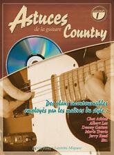PIMGLM67 ♦ Méthode Astuces de la Guitare Country Volume 1