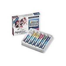 Daler Rowney Aquafine Watercolour - 6 Tube Set