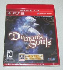 Demon's Souls for Playstation 3 Brand New! Factory Sealed!