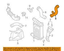 AUDI OEM A4 Quattro Turbo Turbocharger Intercooler-Pressure Hose 8E0145832S