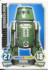 Star Wars Force Attax Series 3 Card #38 Astromech Droid