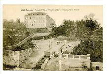 Soldiers Mail, Censored WWI, Rennes France, stairs to Thabor Garden