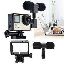3.5mm External Stereo  Mini Microphone for GoPro Hero 3/3+/4 Camera Accessory