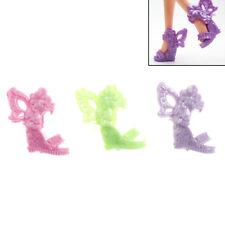 8 Pairs Barbie Schuhe Schmetterling Flügel Design Puppe Schuhe Barbie PuppenSTDE