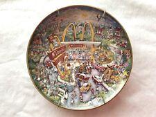 """Bill Bell """"Golden Moments"""" McDONALDS Plate from Franklin Mint - 8"""" #HC582S"""