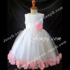 Vêtements roses décontracté en polyester pour fille de 2 à 16 ans