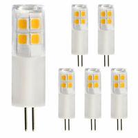 6-PACK G4 LED Bulb (AC DC12V, ETL-listed), 20W Halogen Equivalent G4 Bi-pin Bulb