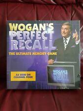 Wogan's Perfect Recall Board Game Terry Wogan Sealed NEW