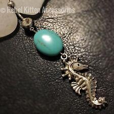 Silver color Dangle Boho  Seahorse Beach Belly Button Navel Ring Piercing