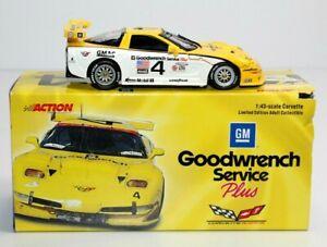 Action 2000 Corvette C5-R #4 Goodwrench Service Plus 1:43 Collins/Pilgrim/Freon