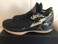 Air Jordan XXXII low Camo AA1256-021 Black Metallic Mens Basketball Shoes NIB
