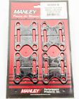 Manley 42355-8 Pushrod Guide Plates Flat Fits Small Block Chevy - 5/16