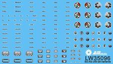 Alliance Model Works 1:35 Vehicle Dials & Placards Sd.Kfz. 250 All Var. #LW35096
