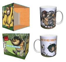 WHERE THE WILD THINGS ARE King Max Porcelain Coffee Mug 11 oz, Boxed, Culturenik