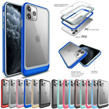 For iPhone 11 Pro XS Max 7 8 Plus XR Clear Shockproof TPU Bumper Hard Case Cover