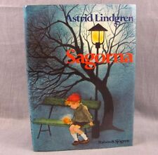 Sagorna Hardcover Book by Astrid Lindgren 1982 Illustrated Norwegian