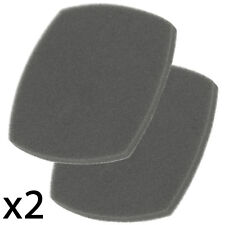 MORPHY RICHARDS Supervac 732005 Vacuum Cleaner Sponge Foam Filter x 2