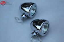 "Mini 2"" Fog Lamp Driving Lights Custom Truck Hot Rat Street Rod Chevy Ford New"