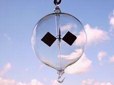 Lichtmühle aus Klarglas 60mm Öse/Haken