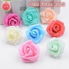 10pcs 4cm Handmade Foam Rose Artificial Craft Pompom Scrapbooking Rosa Flores