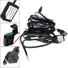 Well Made 12V Car Remote Control Flash Strobe 2Lead LED Light Wiring Harness Hot