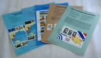 5 USA FDC First Day of Issue Sheets Collection SC #2765 #2837 #2838 #2840 #2869