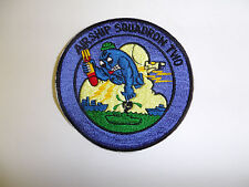 b8869 WW 2 US Navy Airship Squadron Two Blimp Zeplin Anti Submarine IR25E