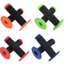 """Pair MX Handle Bars 22mm 7/8"""" Hand Grips for Motorcycle Pit Dirt Bike Mini Quad"""