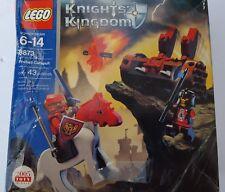 Lego 3873 knights kingdom Fireball Catapult Red Black Castle Sir Sartis Shadow