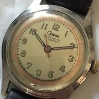 Vintage Optima Army  Watch 17J Working Mechanical Manual Hand Wind Watch