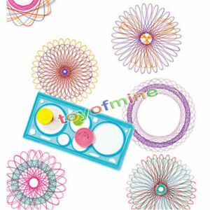 Classic spirograph Design Early Learning Creative Educational Toy Drawing Ruler