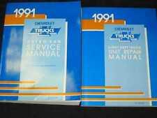 1991 Chevrolet Astro Van Shop Manual 2pcs