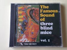 THE FAMOUS SOUND OF THREE BLIND MICE VOL.1 AUDIOPHILE WEST GERMANY TBM CD SEALED